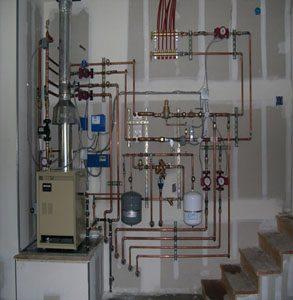 John Wilkinson system Boiler Installed